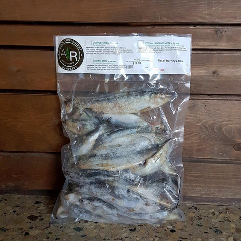 Artisan Whole Herring Raw