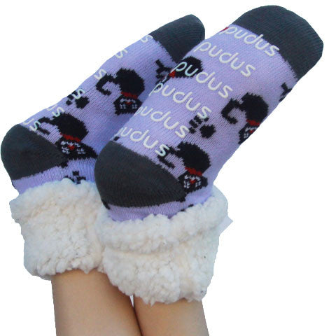 [product vendor],I Love My Cat Slipper Socks,Cat