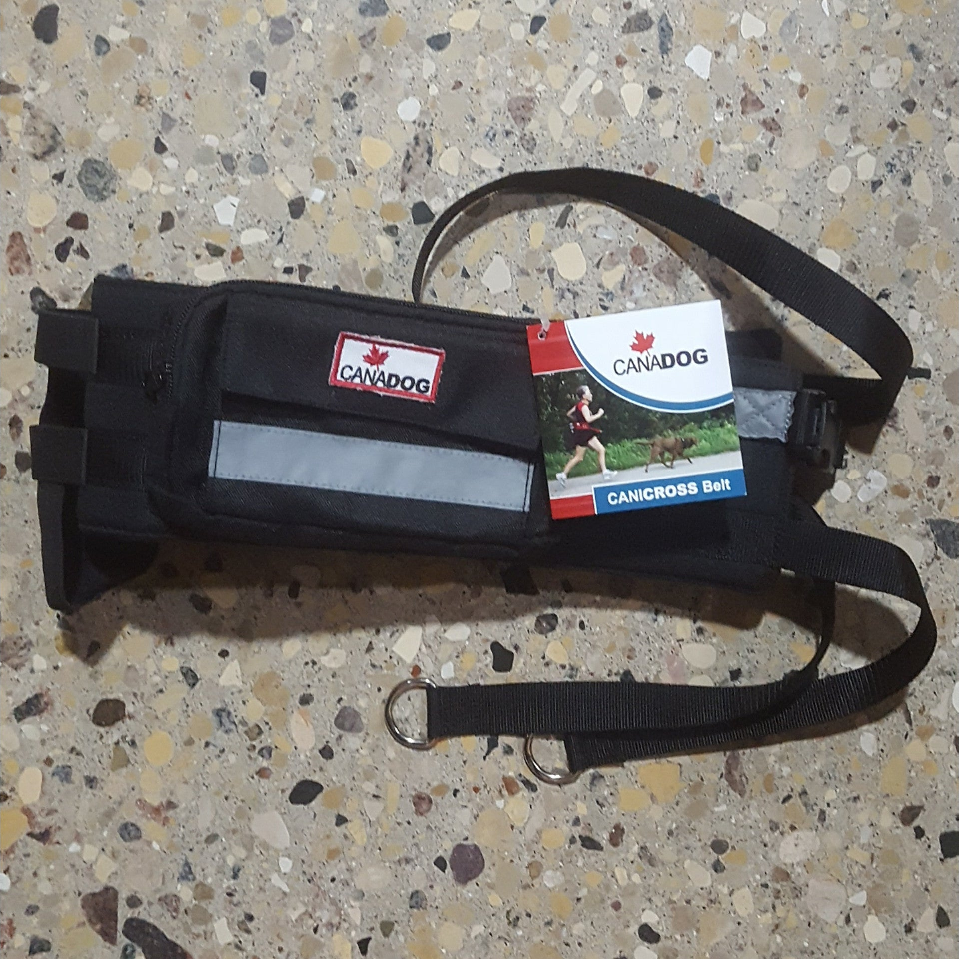Canicross walking jogging belt