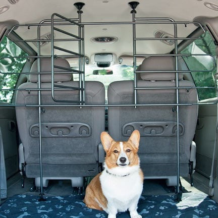 Vehicle Pet Barrier with Door