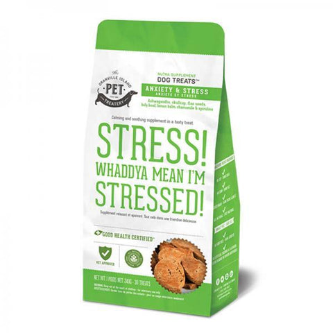 Nutra Supplement Dog Treats- Stress! Whaddya Mean I'm Stressed! 240g