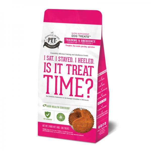 Nutra Supplement Dog Treats- I Sat. I Stayed. I Heeled. Is it Treat Time Yet? 240g