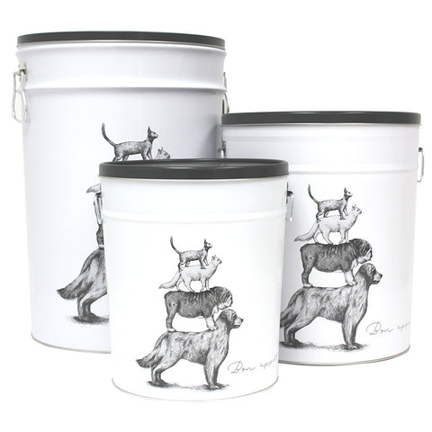 Pet Food Cannisters