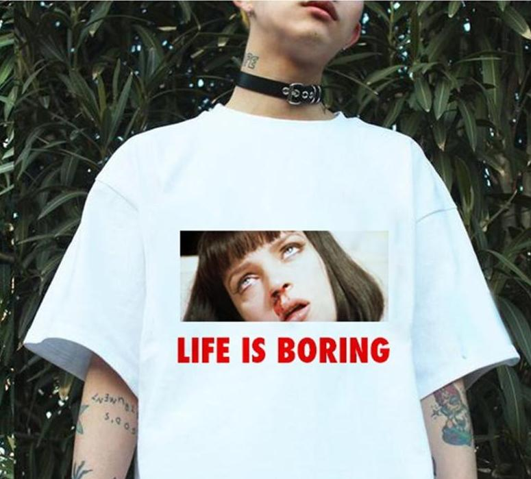 Life is Boring & Disappointment Graphic Tee