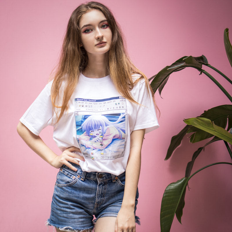 Windows 98 Anime Tee