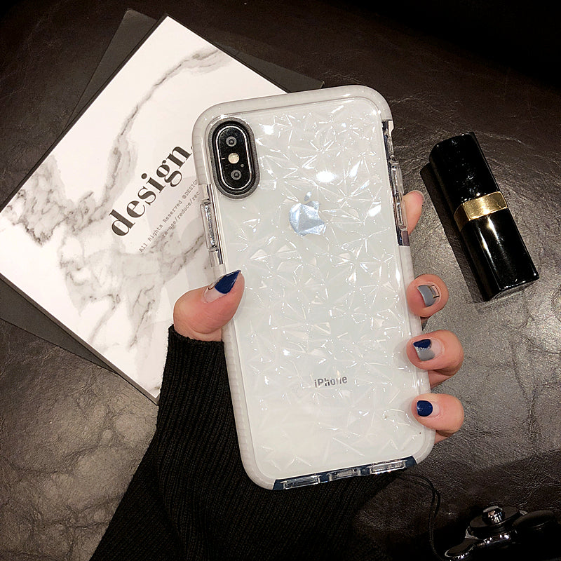 Transparent Pattern Iphone Case