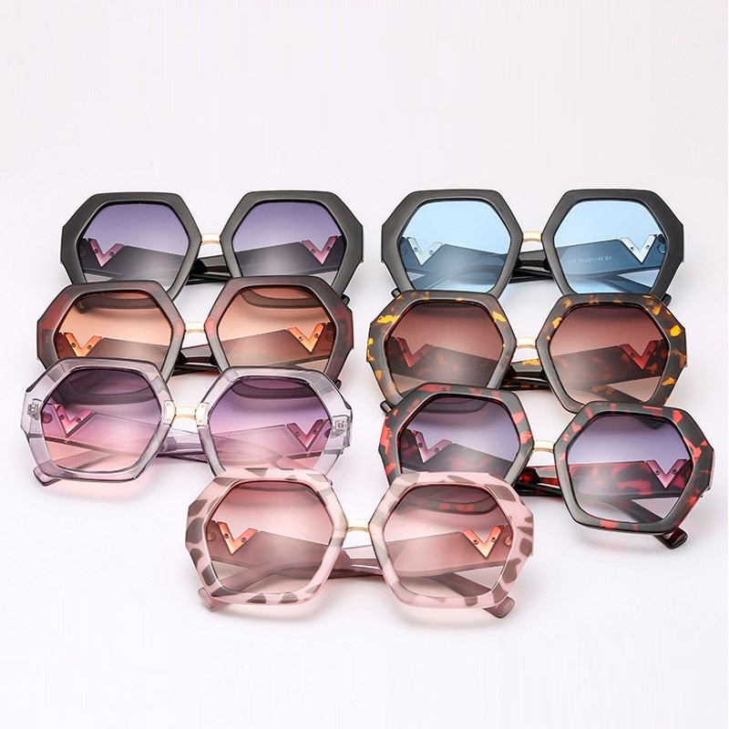 Polygon Shape Sunglasses