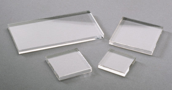 Squarelets™ Crystal Clear Acrylic Bases