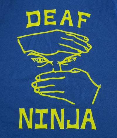 Deaf Ninja Men's Tank top - TeesForHumanity