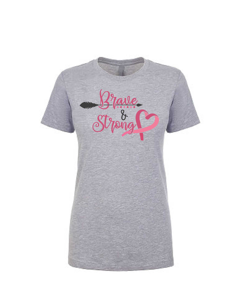 Brave and Strong - Women's Boyfriend Tee