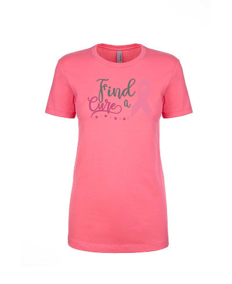 Find A Cure - Women's Boyfriend Tee