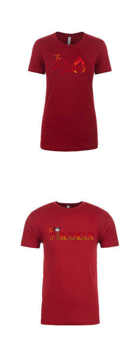 The Flame Women's Crew Neck Tee - TeesForHumanity
