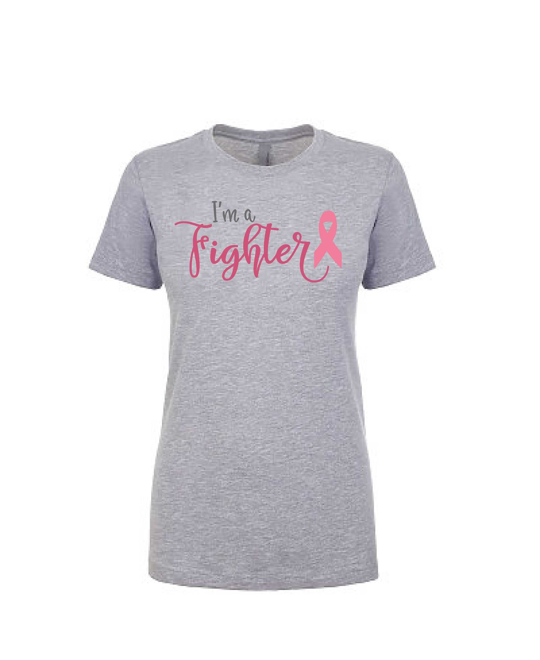 I'm A Fighter - Women's Boyfriend Tee
