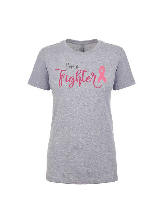 I'm A Fighter - Women's Boyfriend Tee - TeesForHumanity