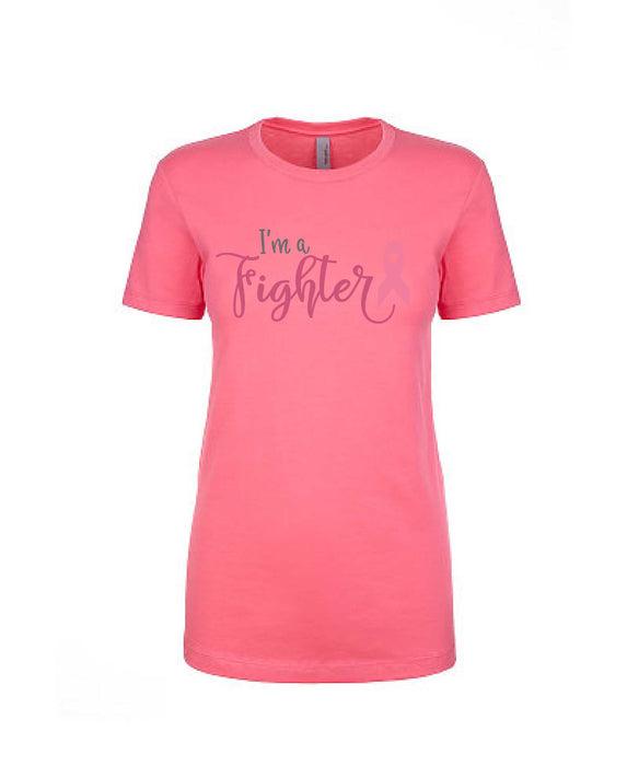 I'm a Fighter Tee - Women's Boyfriend Tee - TeesForHumanity