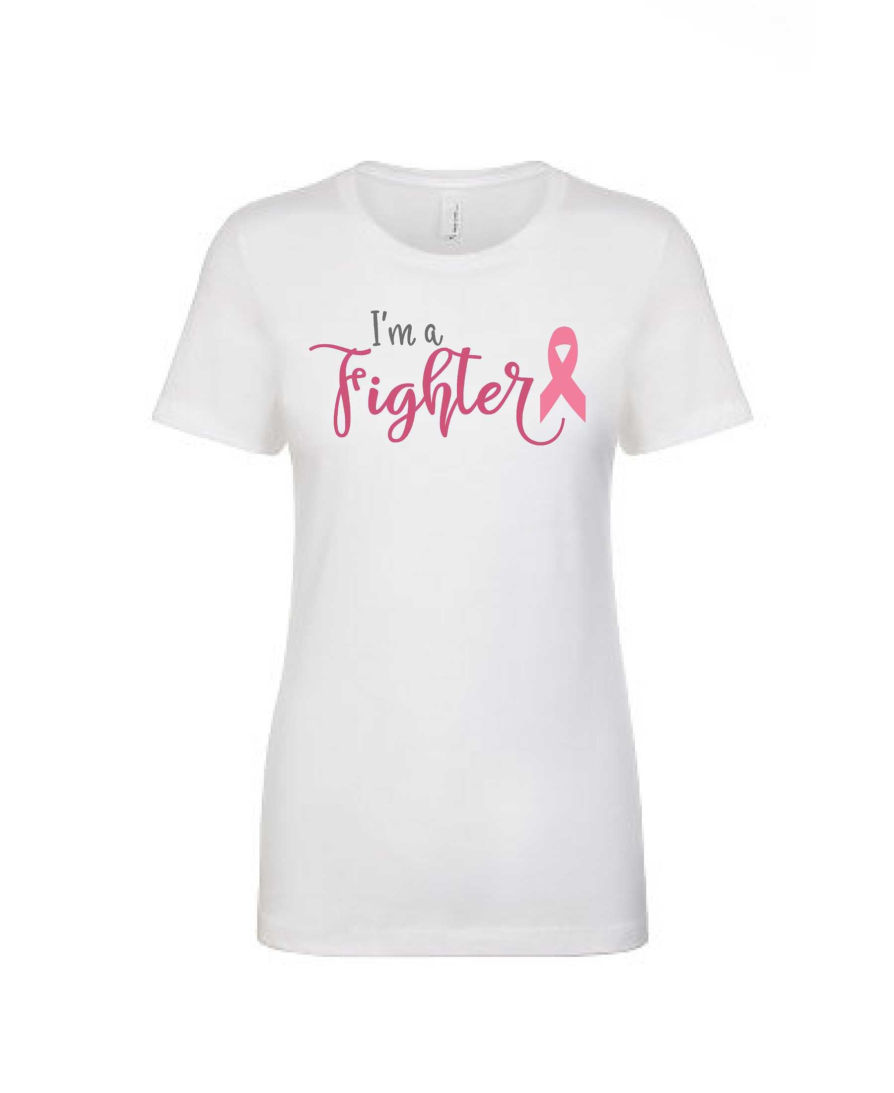 I'm a Fighter Tee - Women's Boyfriend Tee