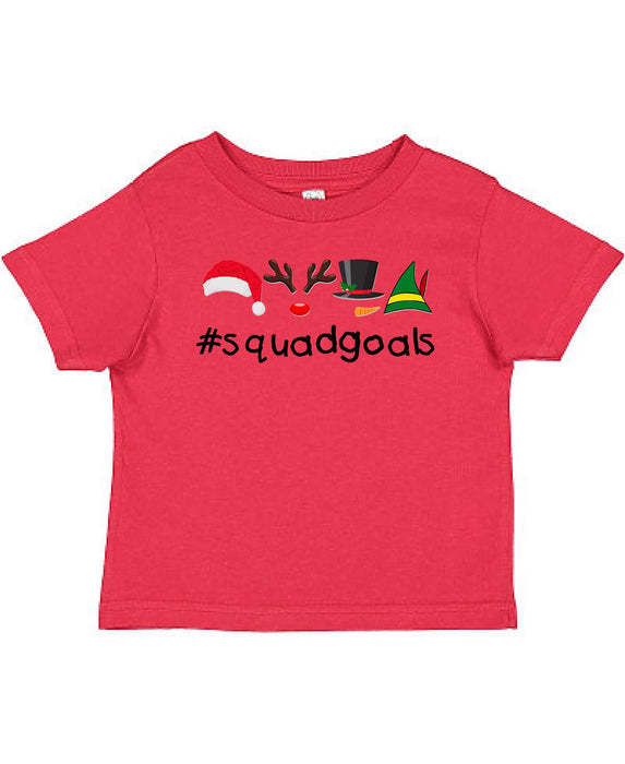 Squad Goals - Toddler Tee - TeesForHumanity