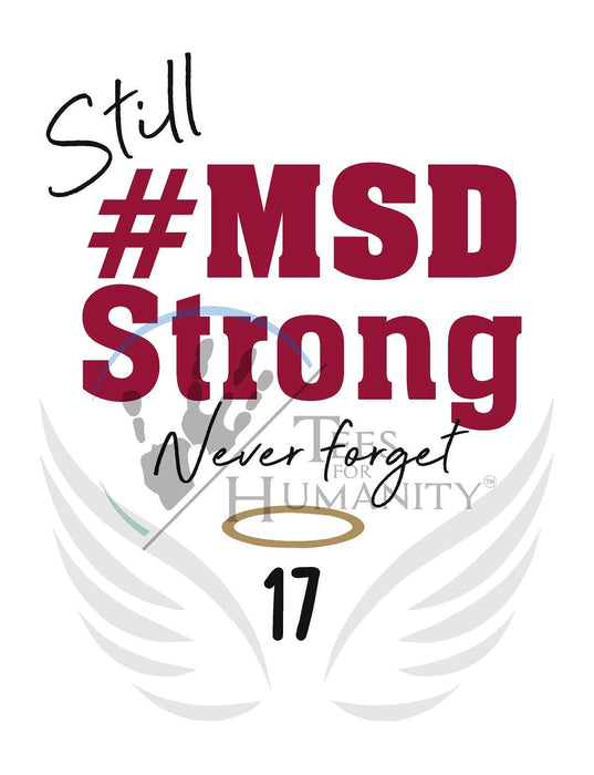 #MSD Strong 2nd Anniversary - Athletic Heather Women's - TeesForHumanity