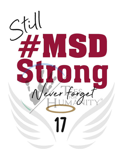 #MSD Strong 2nd Anniversary -  Storm Men's - TeesForHumanity
