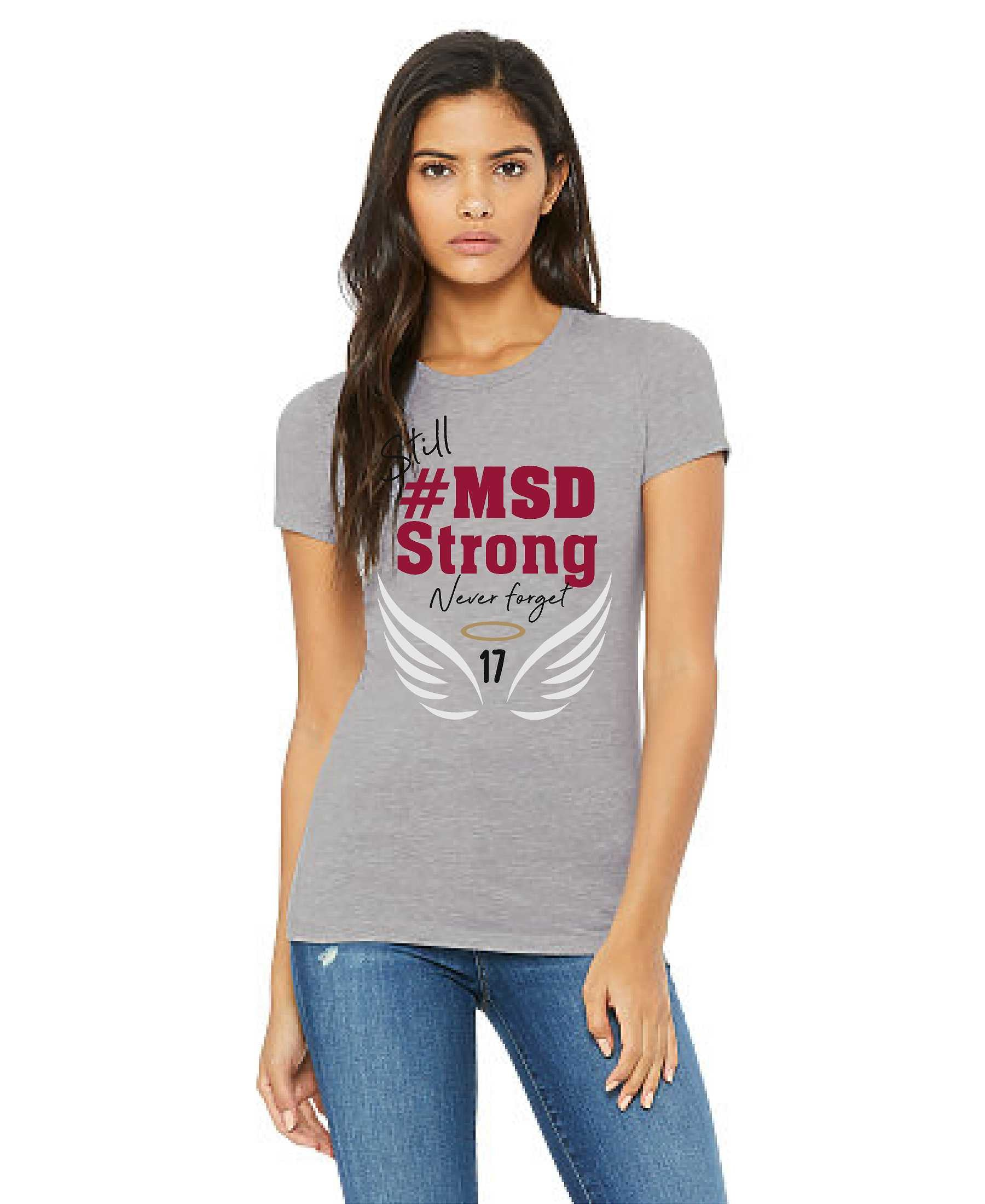 #MSD Strong 2nd Anniversary - Athletic Heather Women's