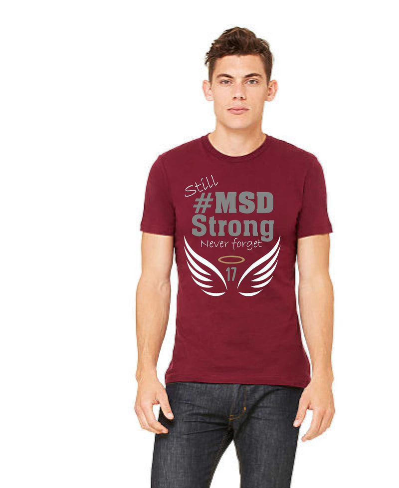 #MSD Strong 2nd Anniversary - Cardinal Men's - TeesForHumanity