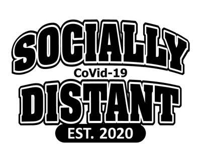 Socially Distant Tee - TeesForHumanity