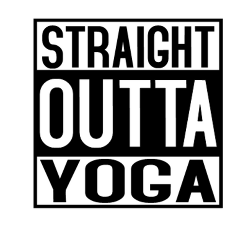 Straight Outta Yoga T-Shirt - TeesForHumanity