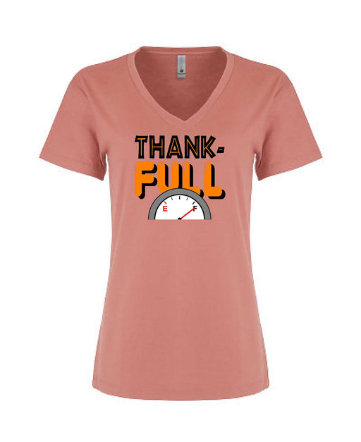 ThankFull - Women's V-Neck - TeesForHumanity