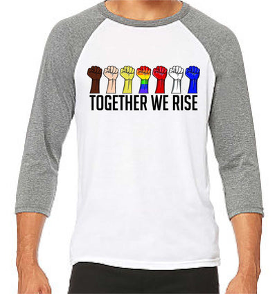 Together We Rise (Long Sleeve) - TeesForHumanity