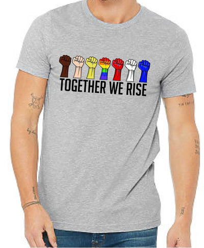 Together We Rise (Unisex Crew Neck) - TeesForHumanity