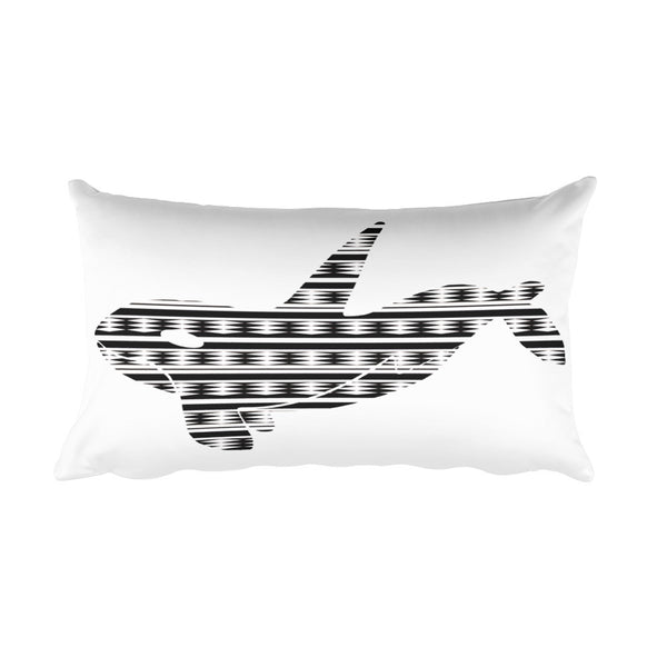 ORCA NEW LIFE PRINT Rectangular Pillow
