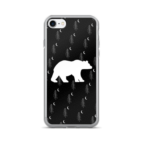 BEAR IN THE WOODS iPhone 7/7 Plus Case - Wear for Wild