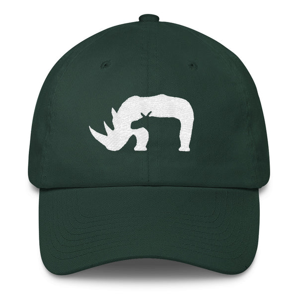 Rhino Cotton Cap- MORE COLORS - Wear for Wild