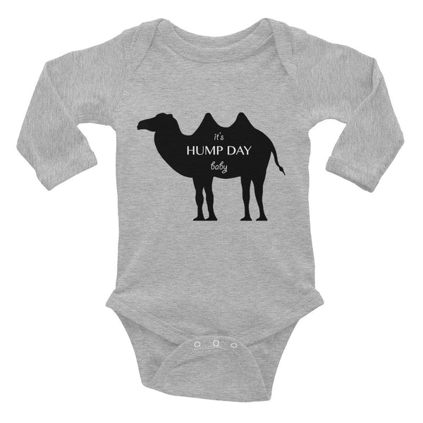 IT'S HUMP DAY BABY Infant Long Sleeve Bodysuit- MORE COLORS - Wear for Wild
