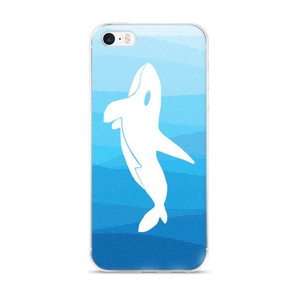 ORCA IN THE DEEP BLUE SEA iPhone 5/5s/Se, 6/6s, 6/6s Plus Case