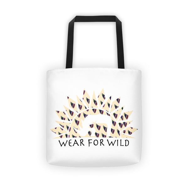 RHINO HORN PRINT CLASSIC Tote bag - Wear for Wild