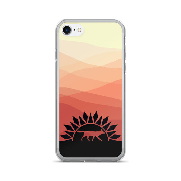 RED WOLF SUNRISE iPhone 7/7 Plus Case - Wear for Wild