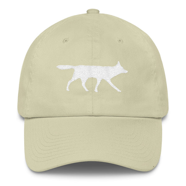 RED WOLF Cotton Cap- MORE COLORS - Wear for Wild