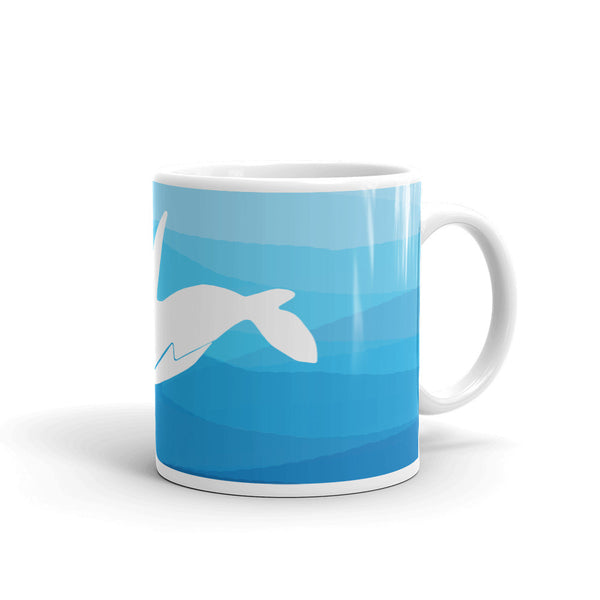 ORCA IN THE DEEP BLUE SEA Mug - Wear for Wild