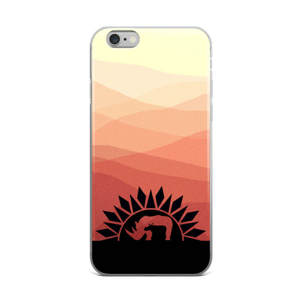 RHINO SUNRISE iPhone 5/5s/Se, 6/6s, 6/6s Plus Case - Wear for Wild
