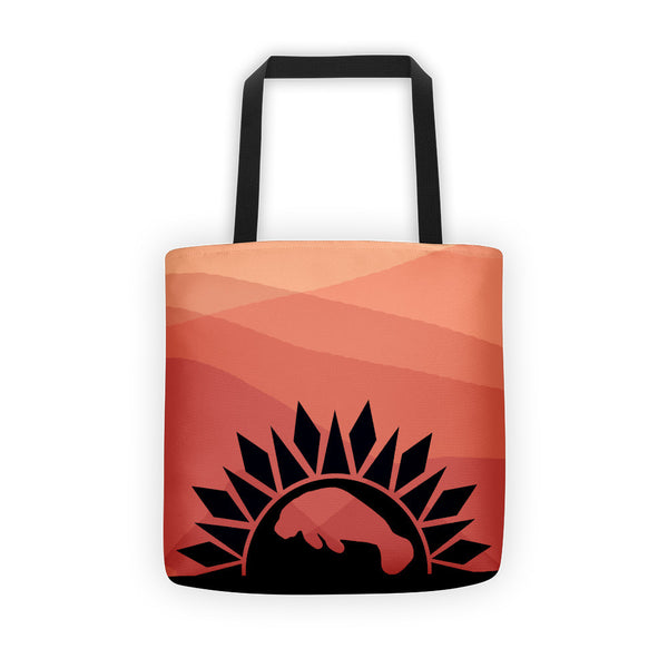 MANATEE SUNRISE Tote bag - Wear for Wild