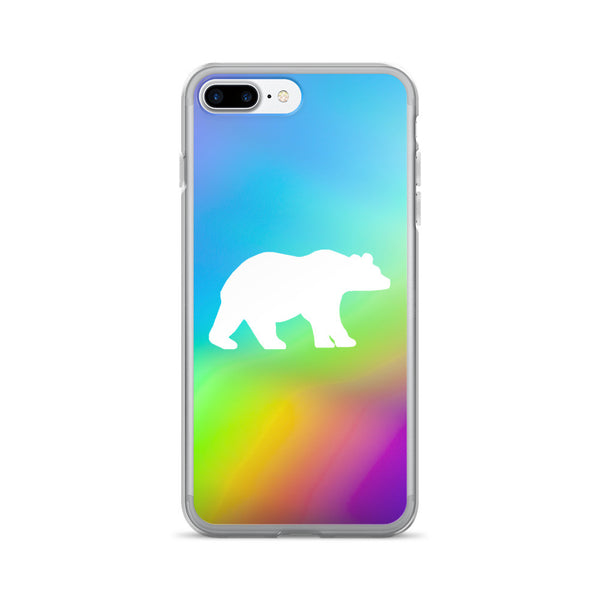 BEAR RAINBOW iPhone 7/7 Plus Case