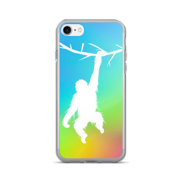 ORANGUTAN RAINBOW iPhone 7/7 Plus Case