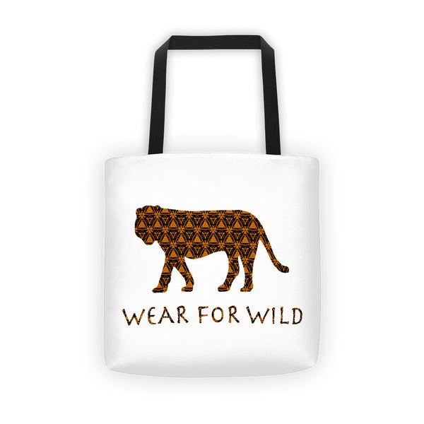 TIGER WILD ORANGE Tote bag - Wear for Wild