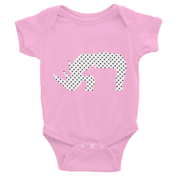 RHINO END XTINCTION Infant Bodysuit- MORE COLORS - Wear for Wild