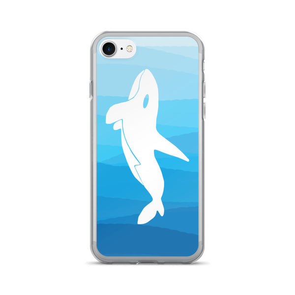 ORCA IN THE DEEP BLUE SEA iPhone 7/7 Plus Case