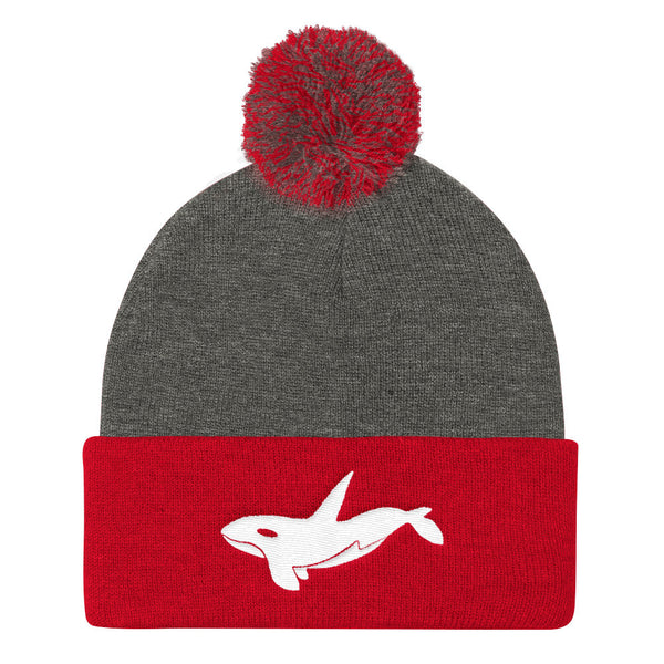 ORCA Pom Pom Knit Cap- MORE COLORS
