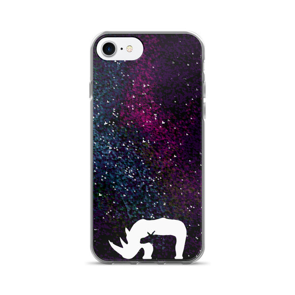 RHINOS IN SPACE iPhone 7/7 Plus Case - Wear for Wild