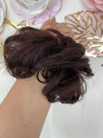 Messy Bun Dark Brown/Slight Auburn  Pt130