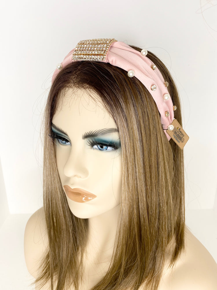 Blush Bling Bling Headband HB43